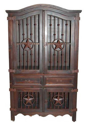 Sam Austin Armoire Dark