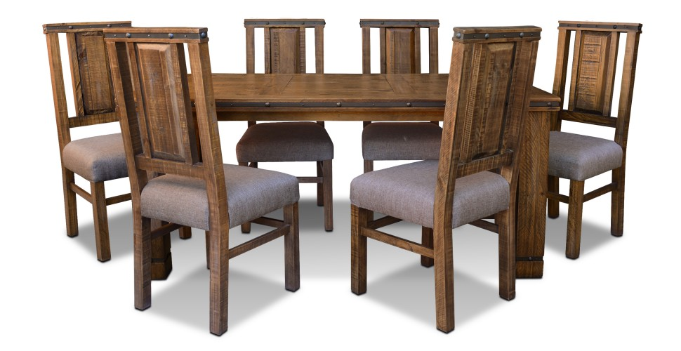 Simple Rustic Hacienda Dining Set