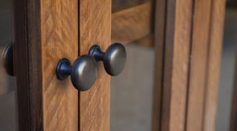 Simple Rustic Hacienda door closeup